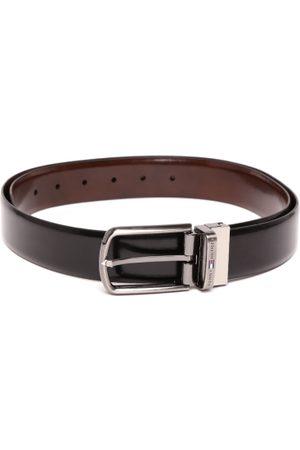 Tommy Hilfiger Men & Brown Solid Reversible Belt