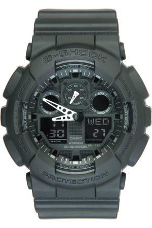 Casio G-Shock Men Black Analogue & Digital Watch GA-100-1A1DR G270