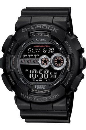 Casio Men Watches - G-Shock Men Black Dial Basic Watch GD-100-1BDR - G310