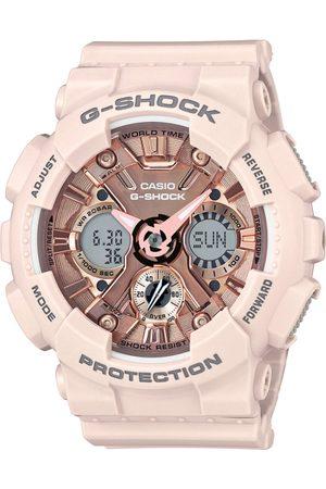Casio Men Watches - G-Shock Men Rose Gold Dial S-Series Watch GMA-S120MF-4ADR - G732