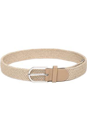 Men Belts - Blueberry Men Braided Belt
