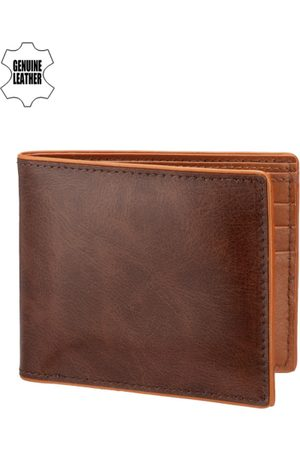 Teakwood Leathers Men Genuine Leather Wallet
