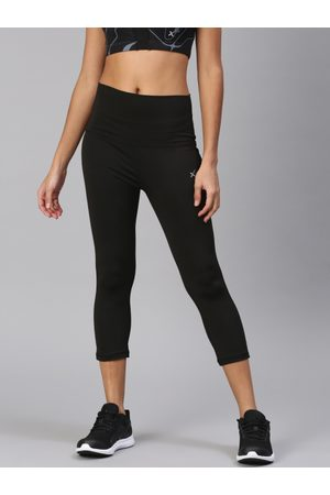 HRX by Hrithik Roshan HRX Active by Hrithik Roshan Women Solid 3/4th Tights