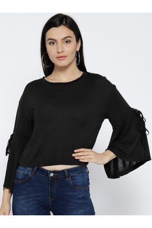 Pepe Jeans Women Crop Tops - Women Solid Crop Top