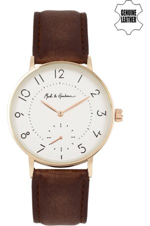Mast & Harbour Men White Analogue Watch MH12-A