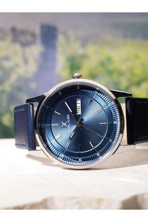 Daniel Klein Premium Men Blue Analogue Watch DK11835-3