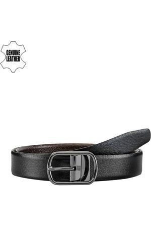 TKWD Leathers Men & Brown Reversible Genuine Leather Belt