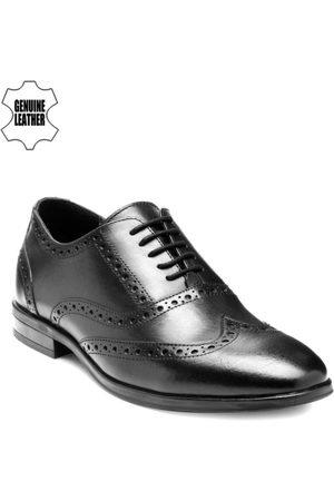 Teakwood Leathers Men Formal Shoes - Men Black Leather Formal Shoes