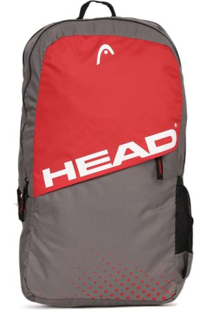 Head Unisex & Red Colourblocked Spin Backpack