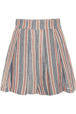 Three Graces London Linen and cotton shorts