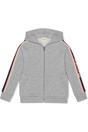 Gucci Children's sweatshirt with Gucci stripe