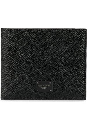 Dolce & Gabbana Logo plaque bi-fold wallet