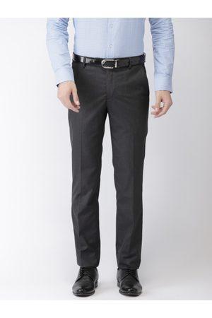 Black coffee Men Grey Formal Trousers