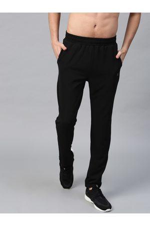 HRX Men Black Active Essential Track Pants