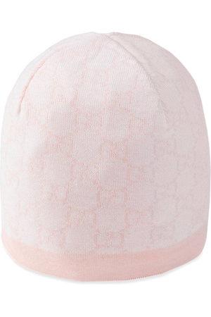 Gucci Hats - Baby GG pattern wool hat