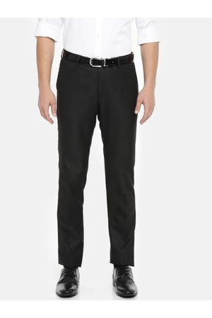 Ralph Lauren Men Slim Fit Solid Formal Trousers