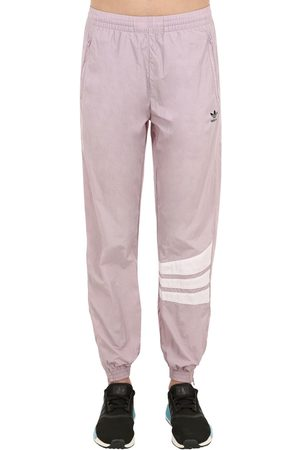 adidas Women Trousers - Striped Logo Printed Track Pants