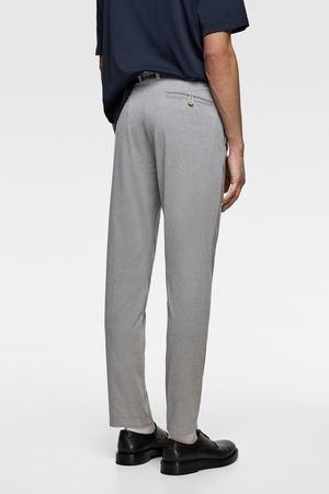 Zara Men Chinos - Chino trousers with a textured weave