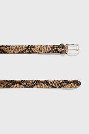 Zara Men Belts - Snakeskin finish belt