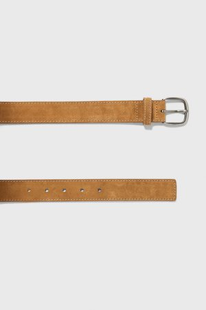 Zara Split suede finish belt
