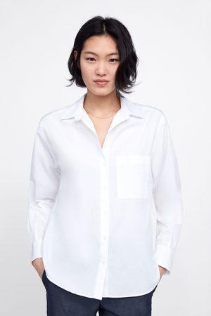 Zara Basic shirt with pocket