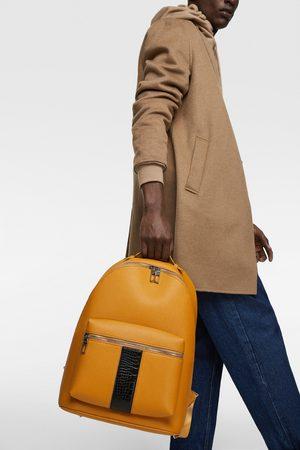 Zara Backpack with stripe detail