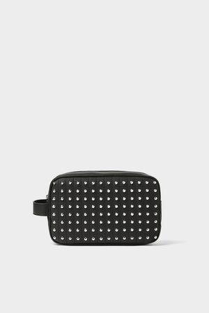 Zara Studded toiletry bag
