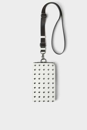 Zara Studded mobile phone carrying case
