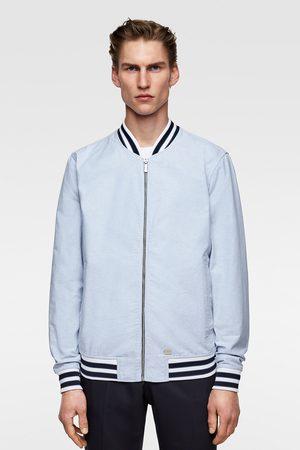 1f28be95ec Zara Bomber jacket with contrast ribbing