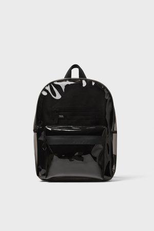 Zara Vinyl backpack