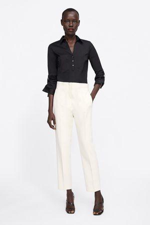 Zara Basic shirt with pockets