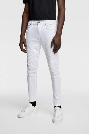 Zara Men Skinny - Skinny biker jeans