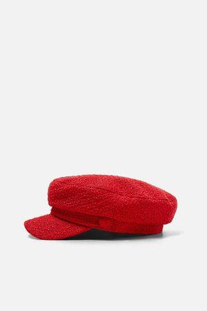 Zara Tweed nautical cap