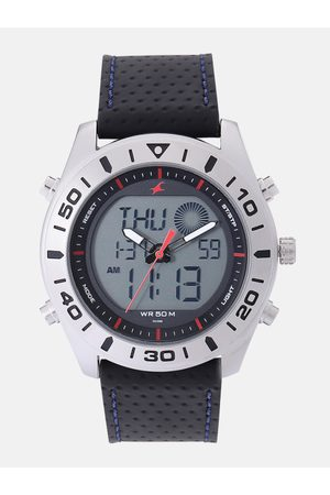Fastrack Men Grey Analogue and Digital Watch 38034SL03_OR2