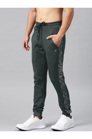 HRX Men Grey Active Rapid Dry Joggers