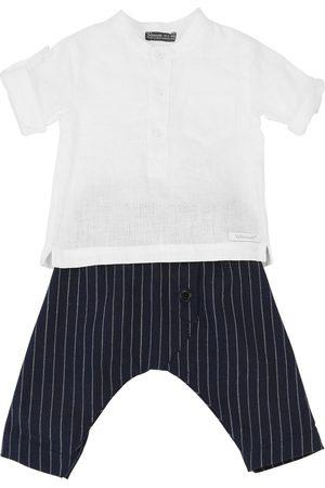 YELLOWSUB Linen Blend Shirt & Pants
