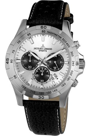 Jacques Lemans Men Silver-Toned Analogue Watch 1-1670B