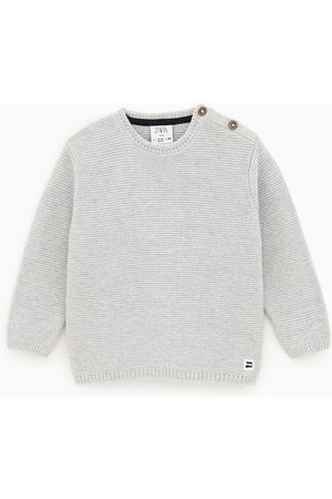 Zara Knit sweater with buttons