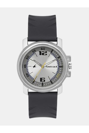 Fastrack Men Silver-Toned Analogue Watch NK3039SP01_OR2