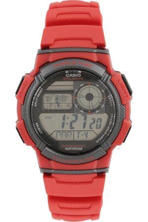 Casio Youth Digital Men Red Digital watch D120 AE-1000W-4AVDF