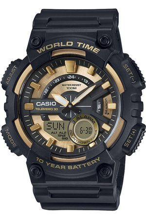 Casio Men Watches - Youth Combination Men Black Analogue and Digital watch AD206 AEQ-110BW-9AVDF