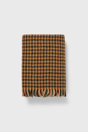 Zara Houndstooth scarf