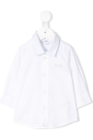 HUGO BOSS Embroidered logo shirt