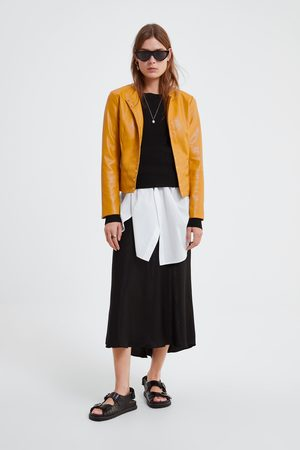 56fe89e51 Yellow Faux Leather Jackets for Women, compare prices and buy online
