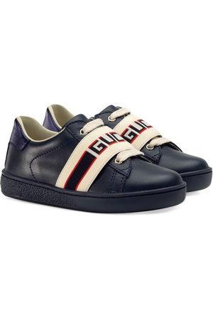 e18df6f81 Gucci Toddler Ace sneaker with Gucci stripe