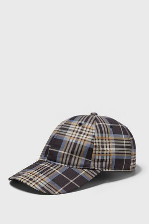 Zara Men Caps - Check cap