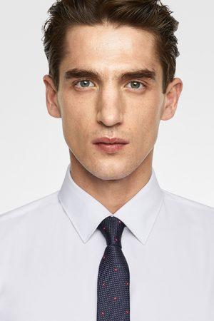 Zara Men Neckties - Floral jacquard slim tie