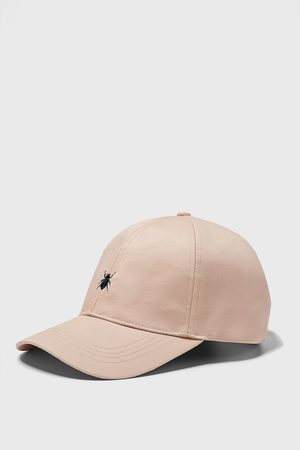 Zara Cap with embroidered insect