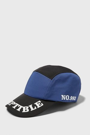 Zara Men Caps - Slogan-printed cycling cap