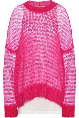 Nº21 Mohair-blend sweater